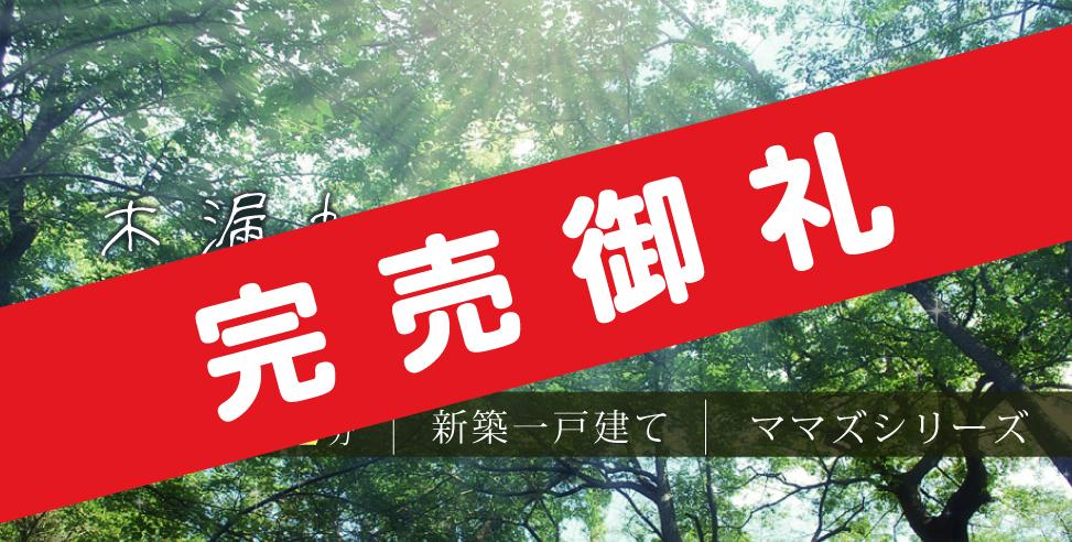 《完売御礼》ロマンティア鶴瀬(羽沢Ⅱ)